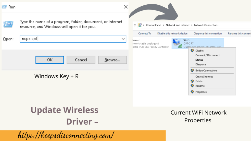 update wireless driver